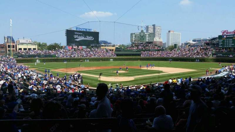 Seating view for Wrigley Field Section 222 Row 3 Seat 101