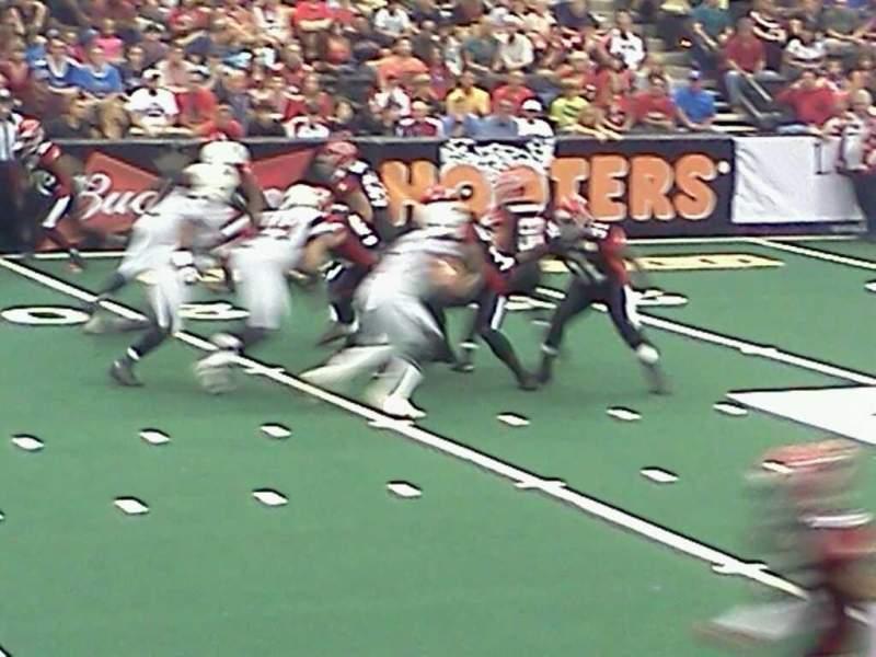 Jacksonville Veterans Memorial Arena, section: 115, row: h, seat: 12