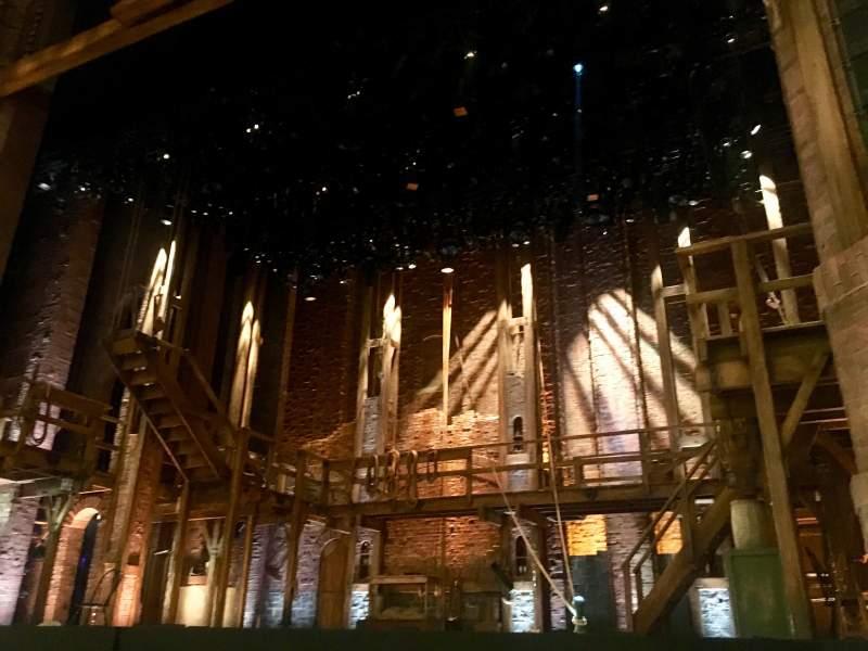 CIBC Theatre, section: Orchestra Right, row: F, seat: 4