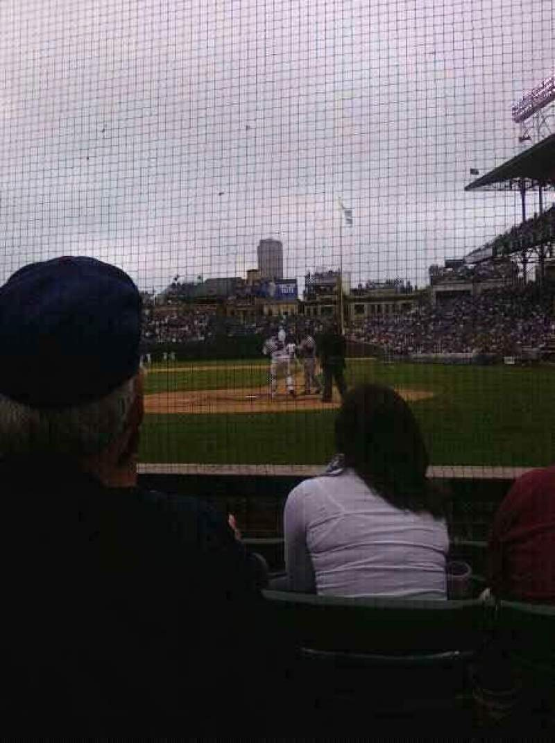 Seating view for Wrigley FieldRow 3 Seat 3