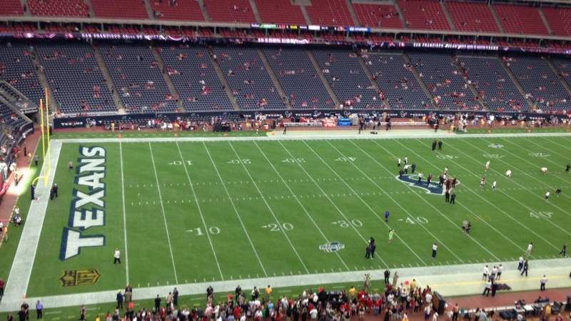 NRG Stadium, section: 512, row: M, seat: 1