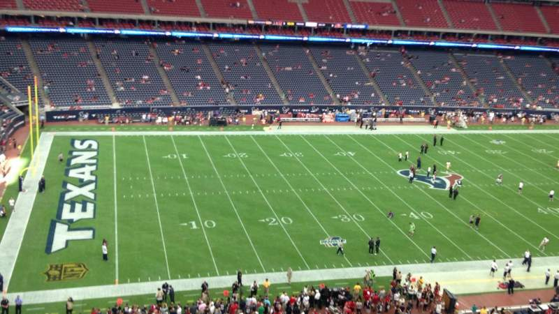 NRG Stadium, section: 512, row: G, seat: 1