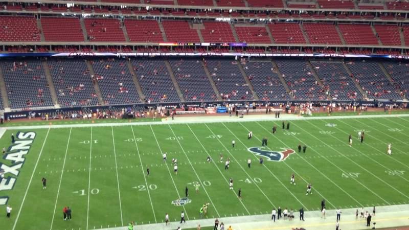 NRG Stadium, section: 511, row: K, seat: 1