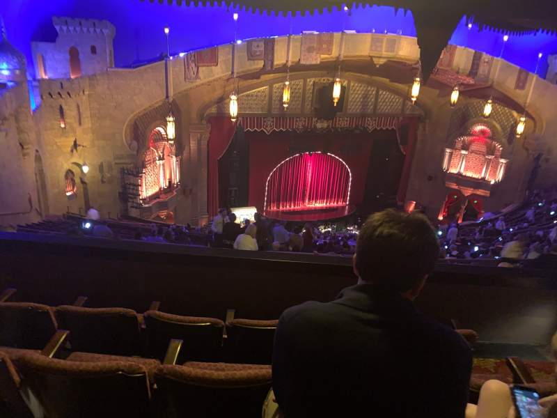 Seating view for Fox Theatre (Atlanta) Section Gallery Left C Row U Seat 37