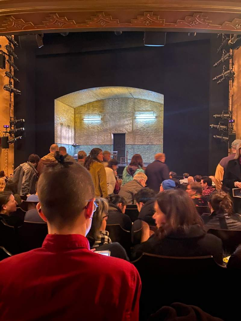 Seating view for John Golden Theatre Section Orchestra C Row O Seat 103
