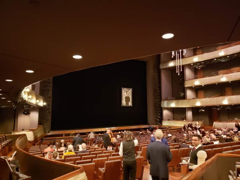 Seating view for Winspear Opera House Section C Orch Terrace Left Row Y Seat 12