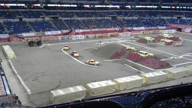 Seating view for Lucas Oil Stadium Section 345 Row 5w Seat 10