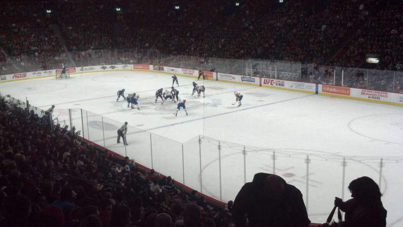 Seating view for Centre Bell Section 121 Row M Seat 17