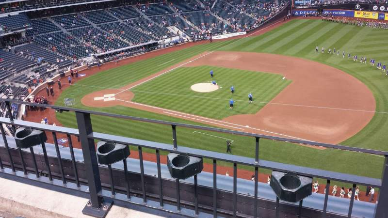 Seating view for Citi Field Section 406 Row 2 Seat 12