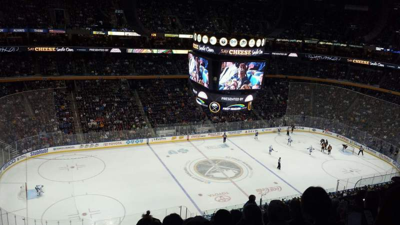 KeyBank Center, section: 308, row: 12, seat: 11