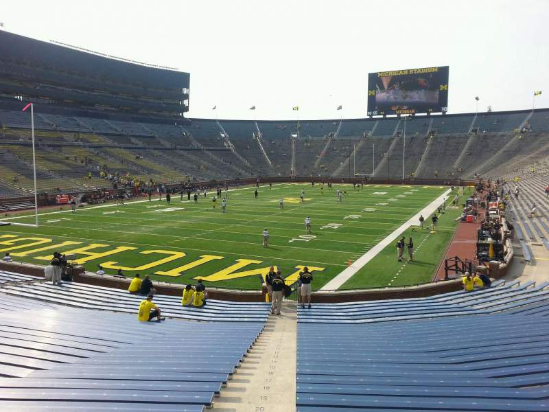 Seating view for Michigan Stadium Section 31 Row 30 Seat 10