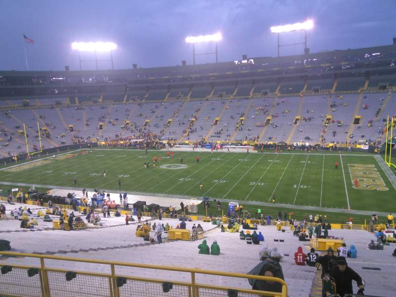 Lambeau Field, section: 332, row: 5, seat: 27