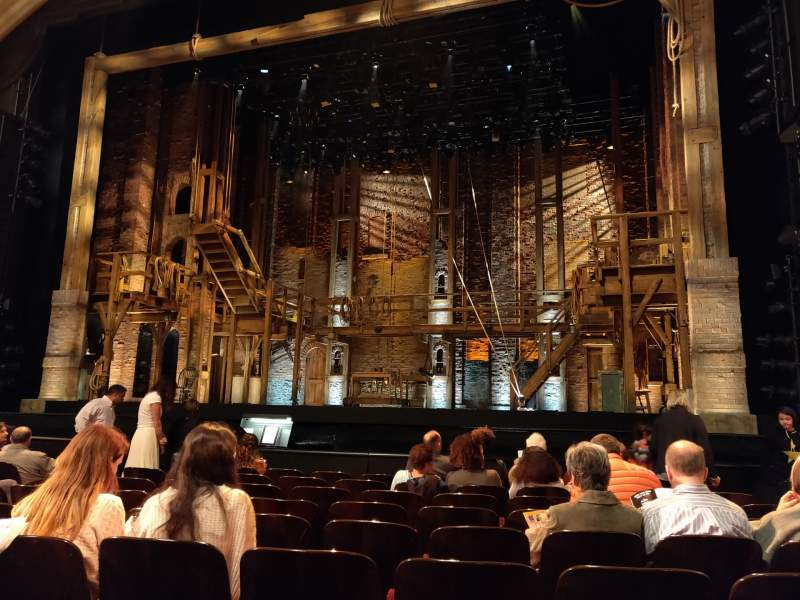 Seating view for Orpheum Theatre (San Francisco) Section Orchestra RC Row J Seat 118