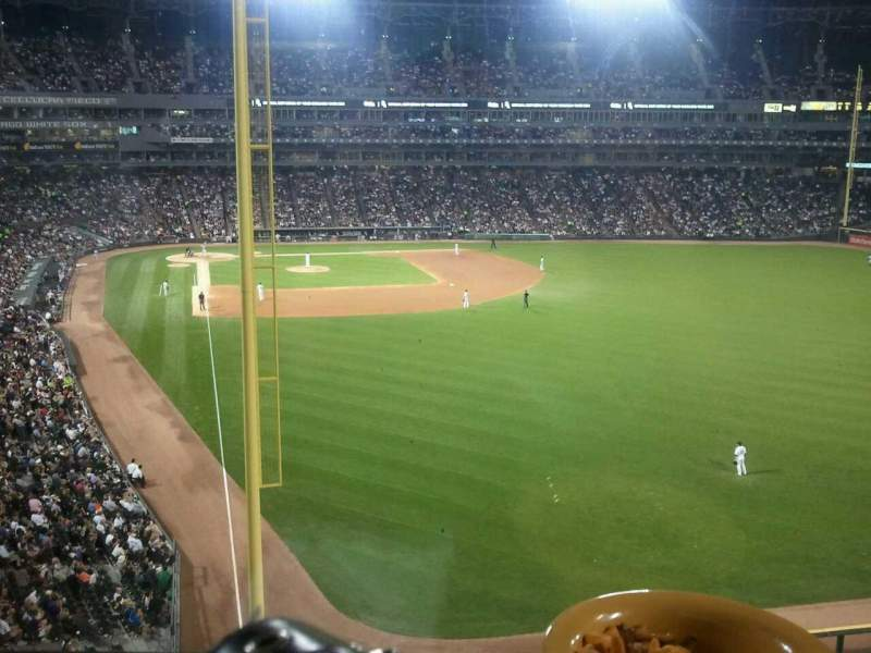 Seating view for Guaranteed Rate Field Section stadium club