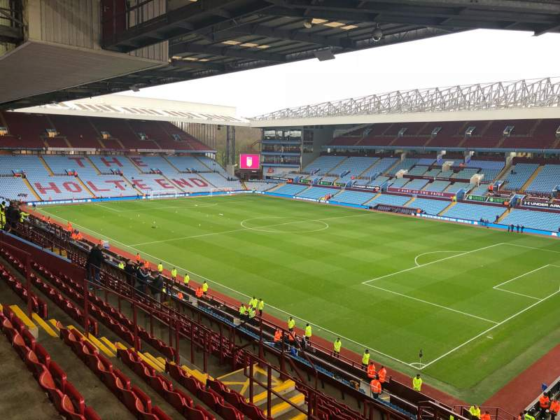 Seating view for Villa Park Section P11 Row NN Seat 4