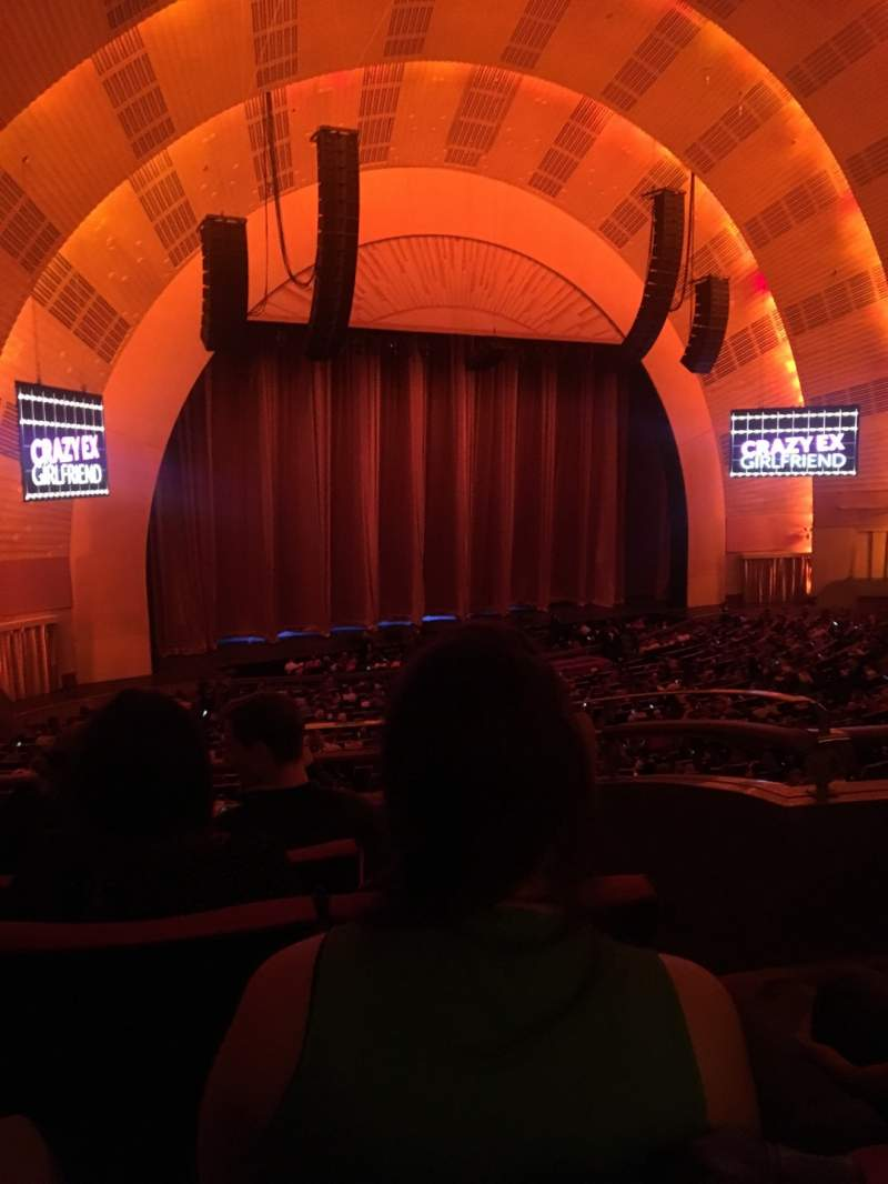 Seating view for Radio City Music Hall Section 1ST Mezzanine 7 Row C Seat 703
