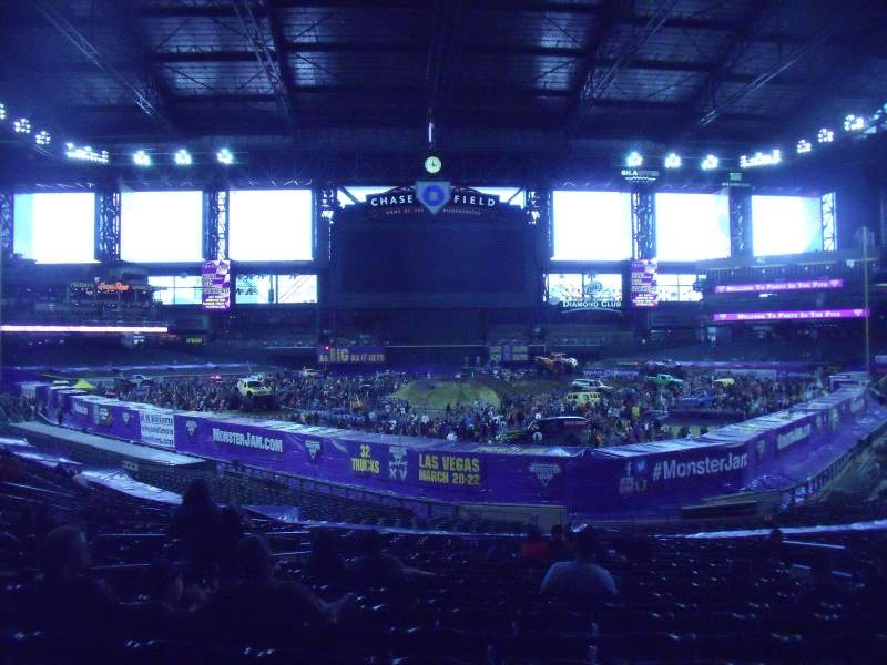 Seating view for Chase Field Section 123 Row 36 Seat 9