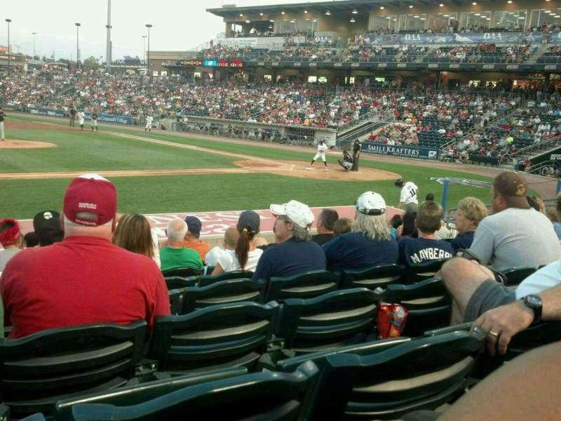 Seating view for Coca-Cola Park Section 117 Row N Seat 14