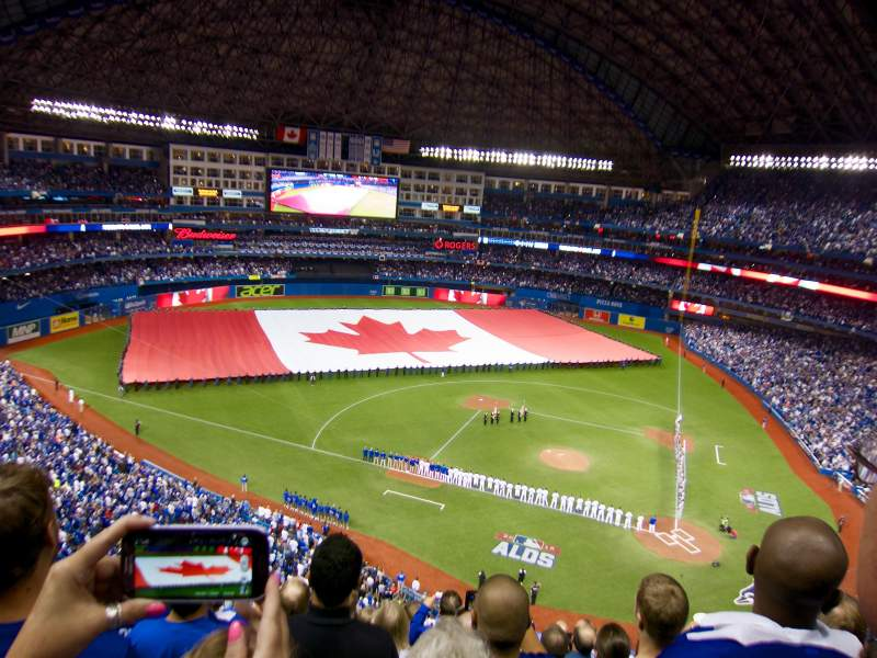 Seating view for Rogers Centre Section 528 Row 10 Seat 10