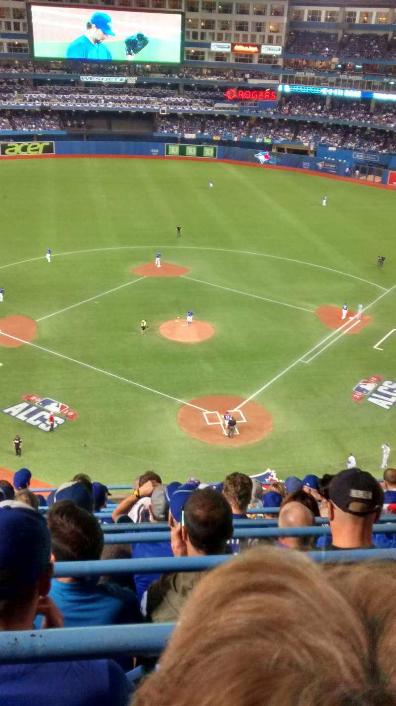 Seating view for Rogers Centre Section 525L Row 9 Seat 110
