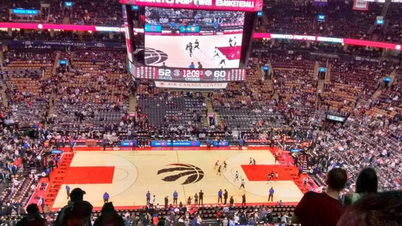 Seating view for Air Canada Centre Section 309 Row 13 Seat 23