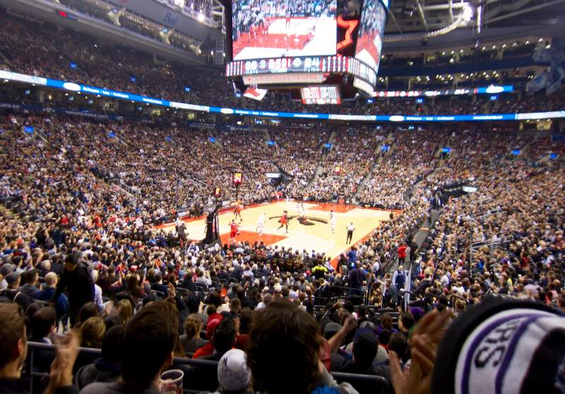Seating view for Air Canada Centre Section 112 Row 20 Seat 16