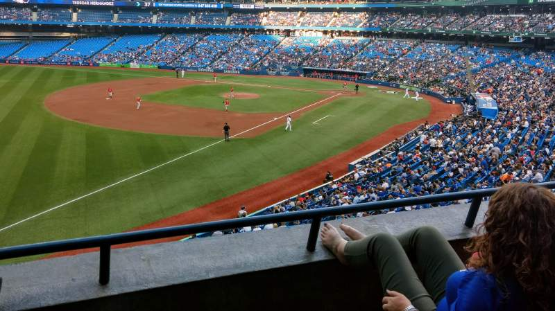 Rogers Centre, section: 236R, row: 3, seat: 7