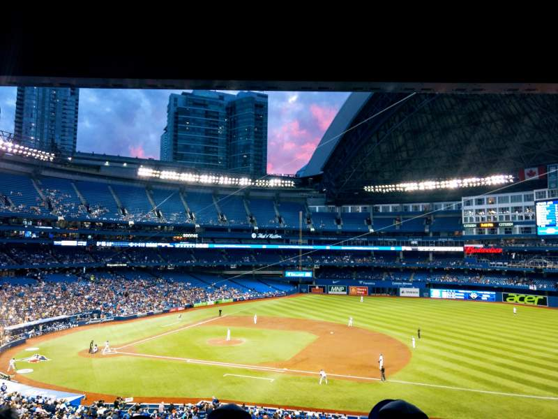 Seating view for Rogers Centre Section 217R Row 11 Seat 8