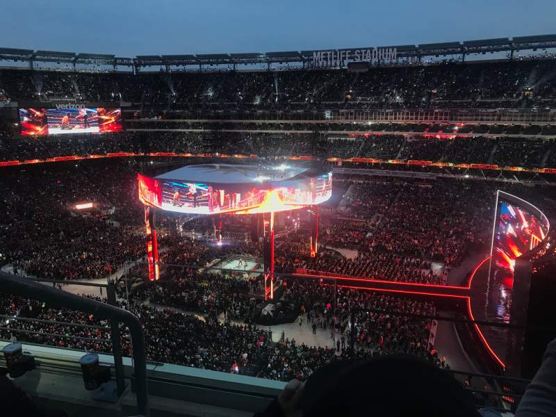 Seating view for MetLife Stadium Section 310 Row 3 Seat 26