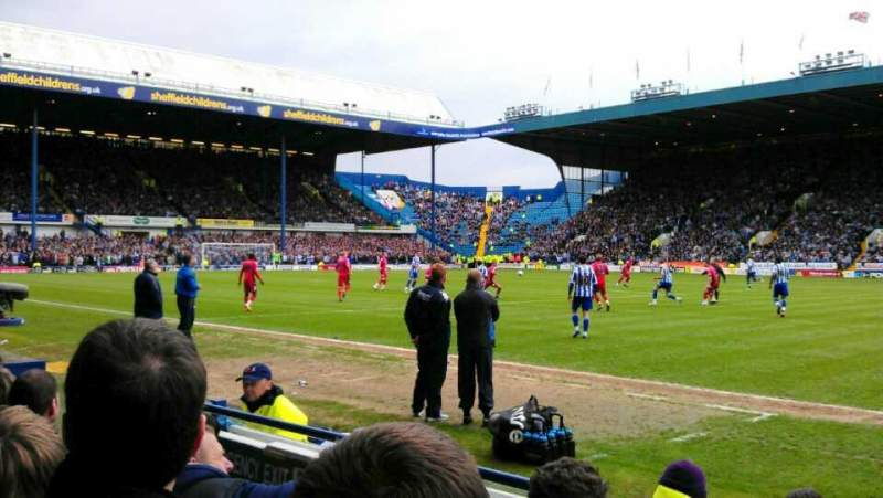 Seating view for Hillsborough Stadium Section South Stand, DD Row C Seat 162