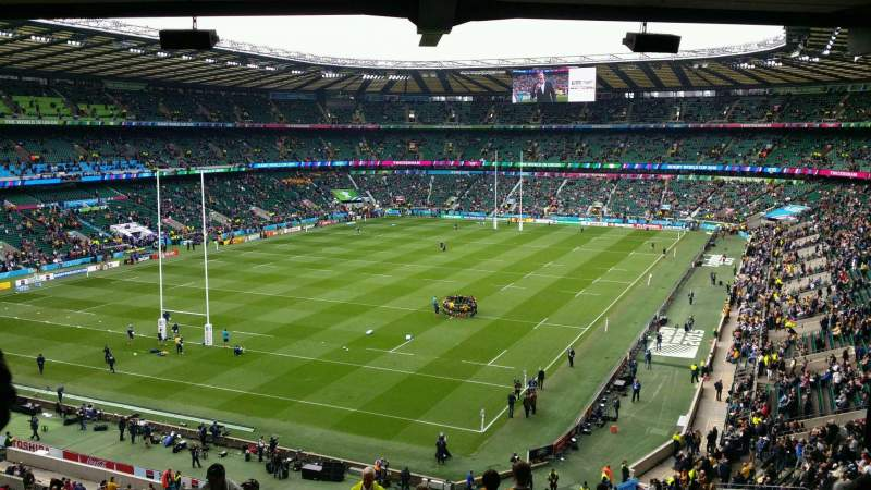 Seating view for Twickenham Stadium Section M42 Row 71 Seat 87