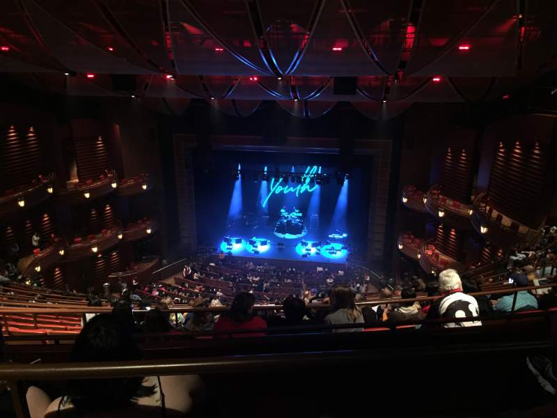 Seating view for Cobb Energy Performing Arts Centre Section C-G T Row L Seat 110