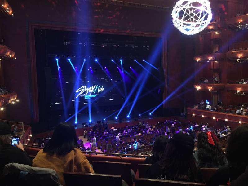 Seating view for Prudential Hall at the New Jersey Performing Arts Center Section TIER 1 L Row D Seat 19
