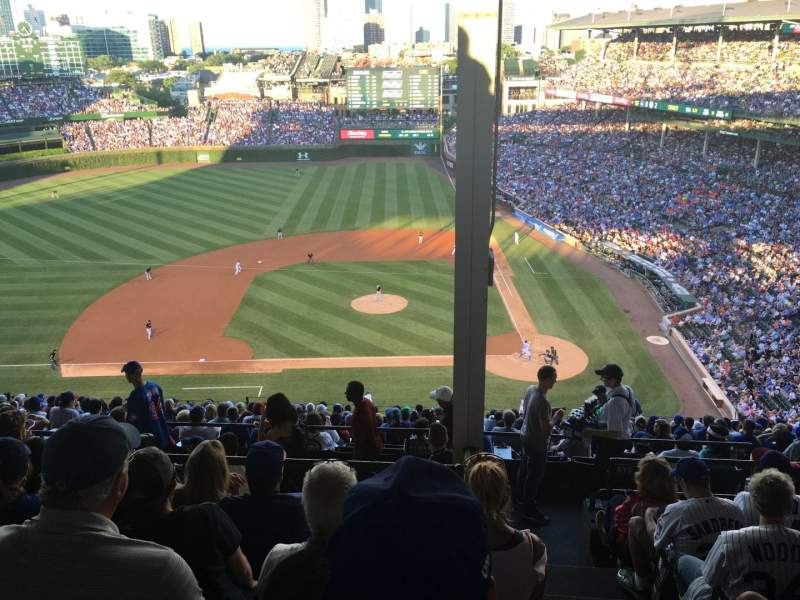 Seating view for Wrigley Field Section 515 Row 7 Seat 101