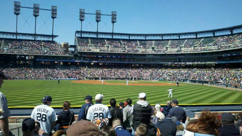 Seating view for Comerica Park Section 149 Row N Seat 23