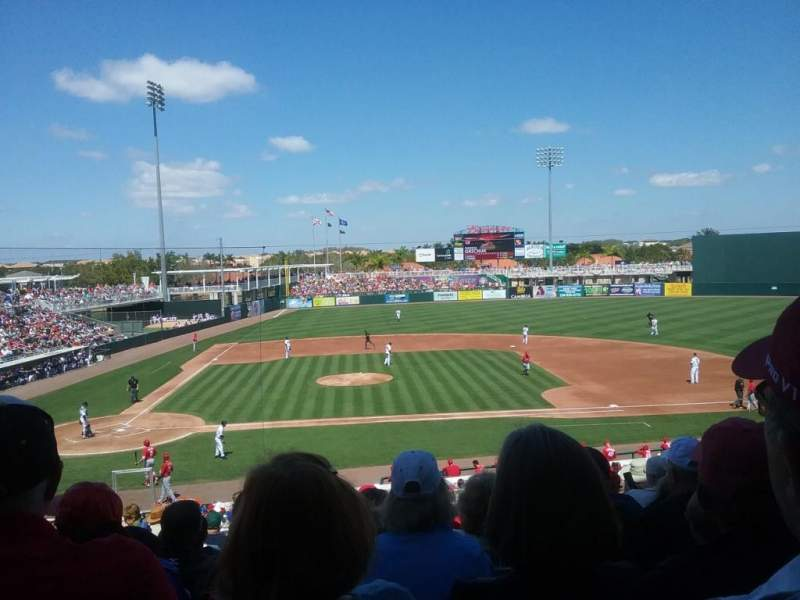 Seating view for Hammond Stadium at CenturyLink Sports Complex Section 204 Row 11 Seat 17
