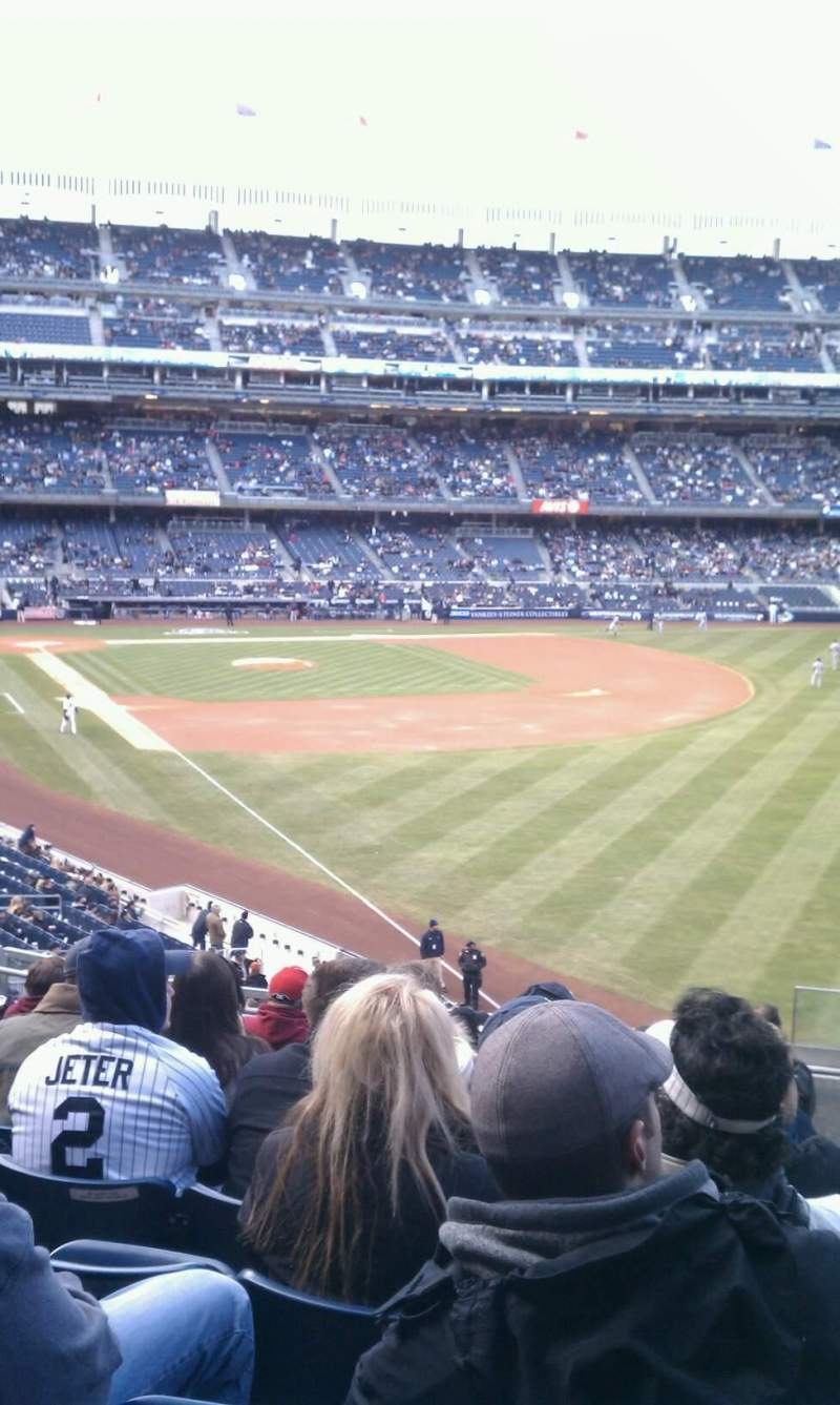 Seating view for Yankee Stadium Section 209 Row 10 Seat 1