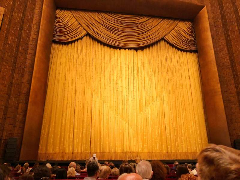 Seating view for Metropolitan Opera House - Lincoln Center Section Orchestra Row N Seat 103