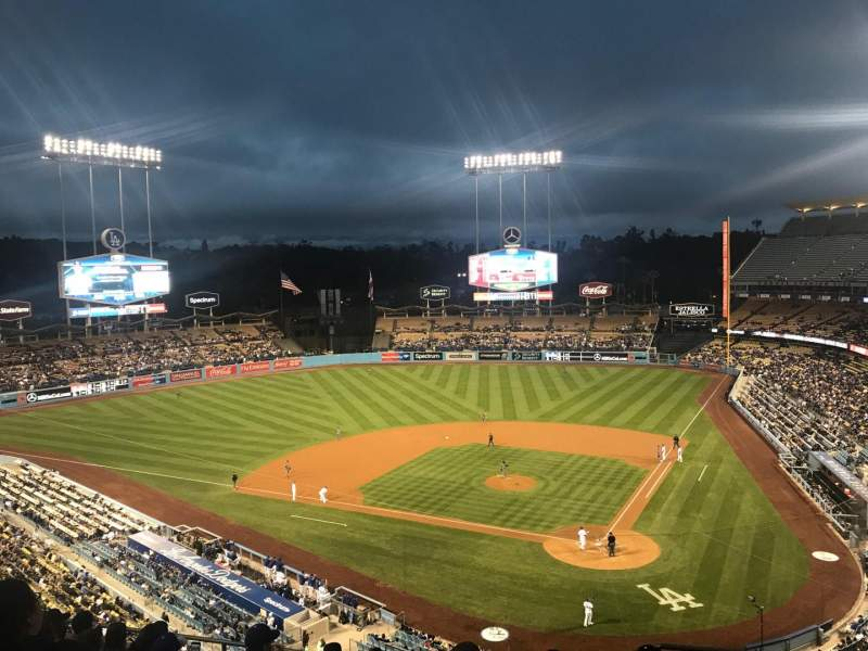 Seating view for Dodger Stadium Section 7RS Row J Seat 2