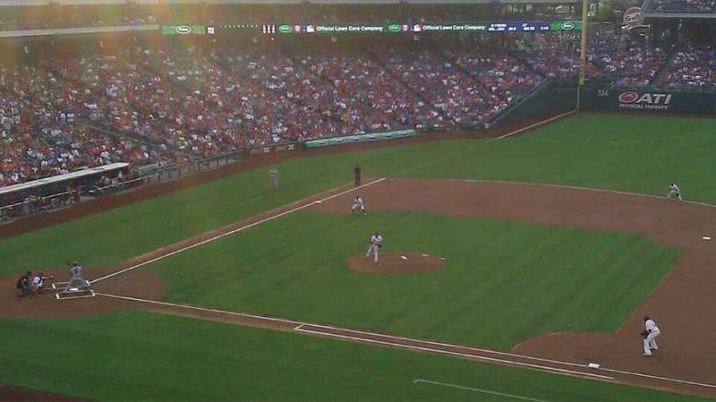 Seating view for Citizens Bank Park Section 214 Row 3 Seat 6