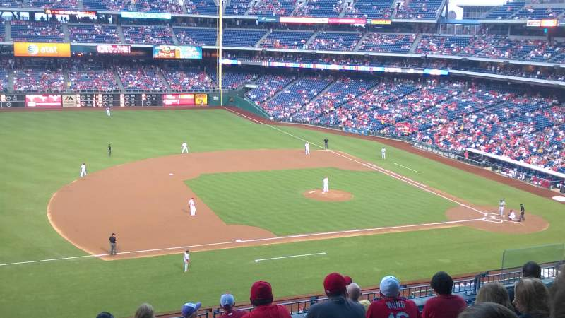 Seating view for Citizens Bank Park Section 230 Row 9 Seat 13