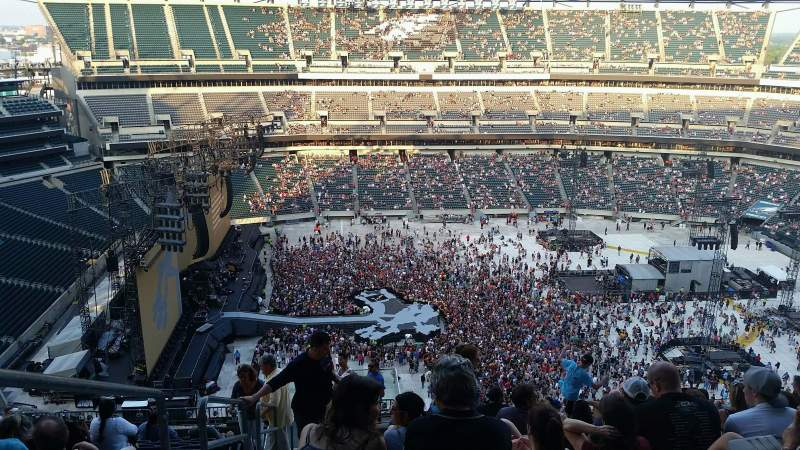 Lincoln Financial Field, section: 244, row: 19, seat: 26