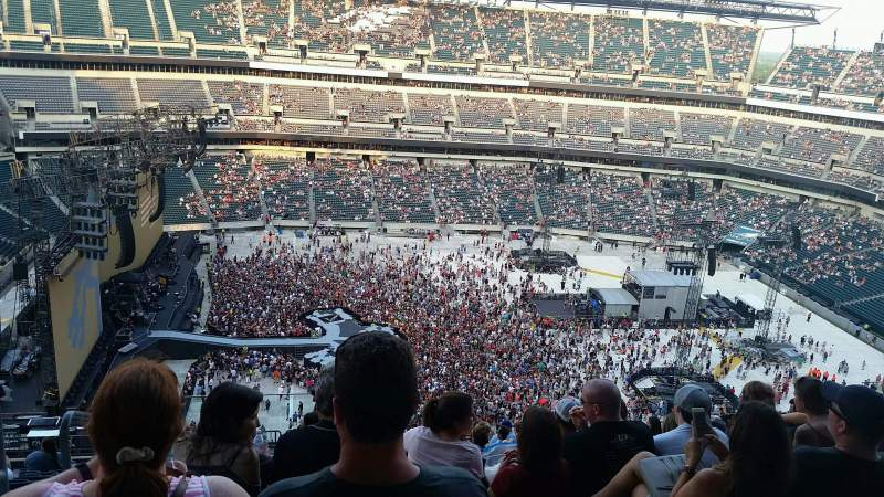 Lincoln Financial Field, section: 244, row: 19, seat: 25