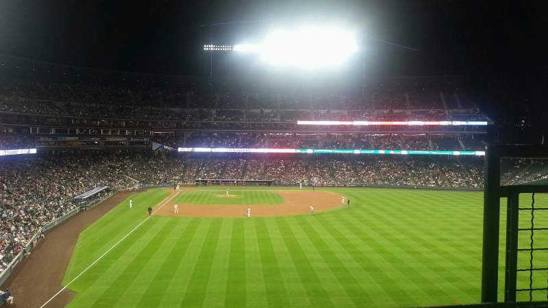 Seating view for Coors Field Section 207 Row 7 Seat 3