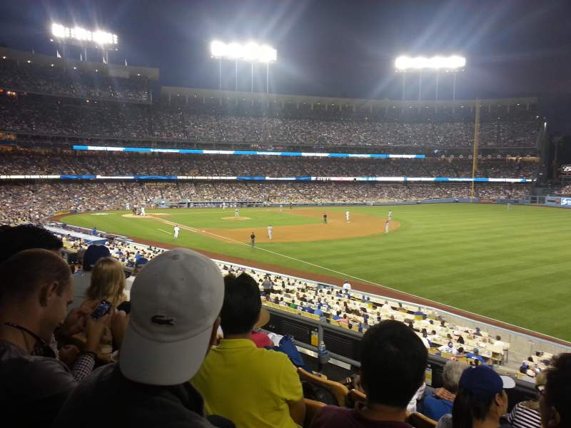 Seating view for Dodger Stadium Section 158LG Row E Seat 9