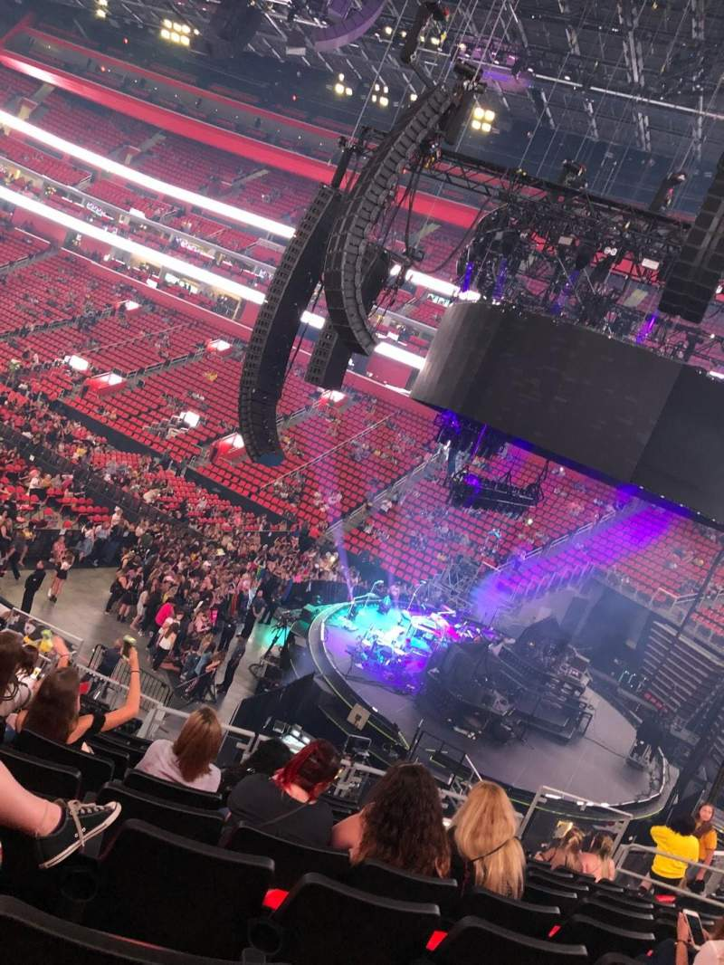 Little Caesars Arena, section: 105, row: 22, seat: 13
