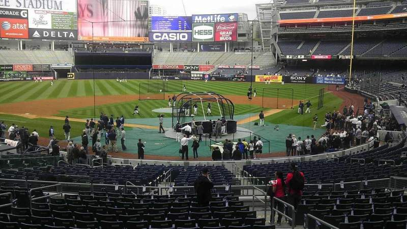 Seating view for Yankee Stadium Section 419 Row 12 Seat 19