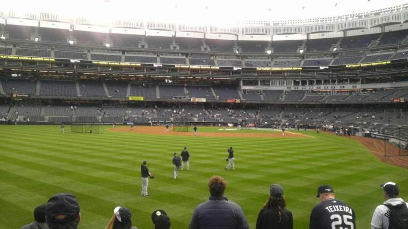 Seating view for Yankee Stadium Section 136 Row 12 Seat 19