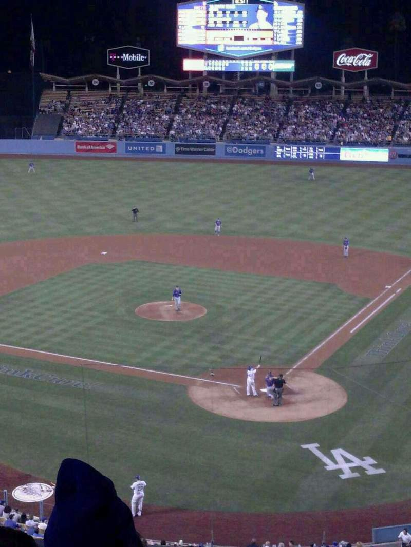 Seating view for Dodger Stadium Section 5RS Row D Seat 12