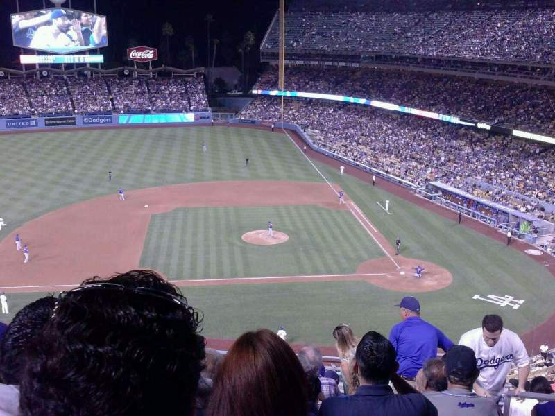Seating view for Dodger Stadium Section 15RS Row K Seat 2